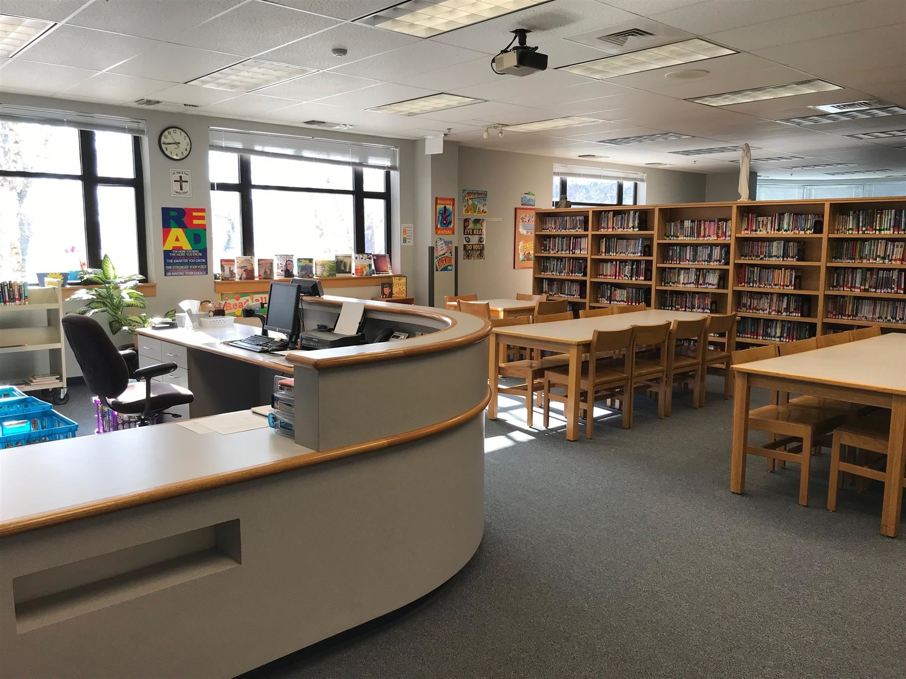 SS. Peter and Paul Catholic School Library